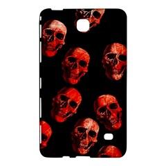Skulls Red Samsung Galaxy Tab 4 (8 ) Hardshell Case