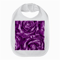 Gorgeous Roses,purple  Bib