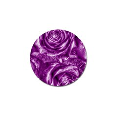 Gorgeous Roses,purple  Golf Ball Marker