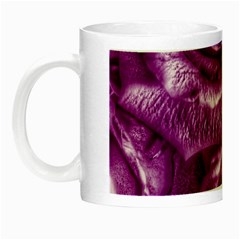 Gorgeous Roses,purple  Night Luminous Mugs
