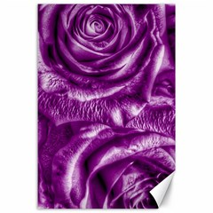 Gorgeous Roses,purple  Canvas 24  x 36