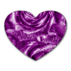 Gorgeous Roses,purple  Heart Mousepads