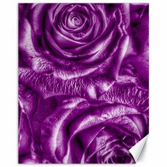 Gorgeous Roses,purple  Canvas 11  X 14