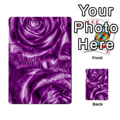 Gorgeous Roses,purple  Multi-purpose Cards (Rectangle)