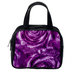 Gorgeous Roses,purple  Classic Handbags (One Side)
