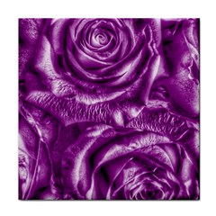 Gorgeous Roses,purple  Face Towel