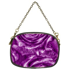 Gorgeous Roses,purple  Chain Purses (One Side)