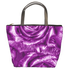 Gorgeous Roses,purple  Bucket Bags