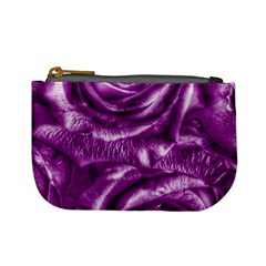 Gorgeous Roses,purple  Mini Coin Purses