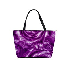 Gorgeous Roses,purple  Shoulder Handbags