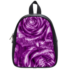 Gorgeous Roses,purple  School Bags (Small)