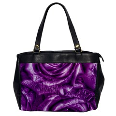 Gorgeous Roses,purple  Office Handbags