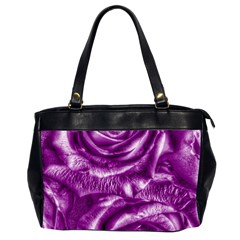 Gorgeous Roses,purple  Office Handbags (2 Sides)