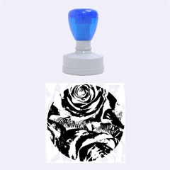 Gorgeous Roses,purple  Rubber Round Stamps (medium)