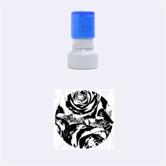 Gorgeous Roses,purple  Rubber Round Stamps (Small)