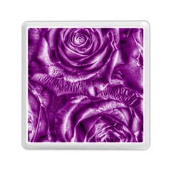 Gorgeous Roses,purple  Memory Card Reader (Square)