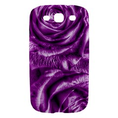 Gorgeous Roses,purple  Samsung Galaxy S III Hardshell Case