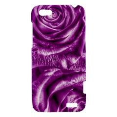 Gorgeous Roses,purple  HTC One V Hardshell Case