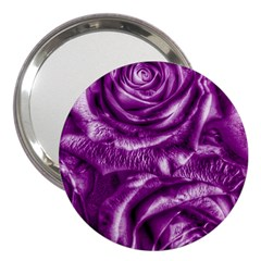 Gorgeous Roses,purple  3  Handbag Mirrors