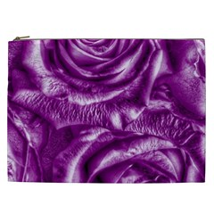 Gorgeous Roses,purple  Cosmetic Bag (XXL)