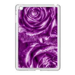Gorgeous Roses,purple  Apple iPad Mini Case (White)