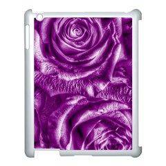 Gorgeous Roses,purple  Apple iPad 3/4 Case (White)