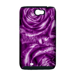 Gorgeous Roses,purple  Samsung Galaxy Note 2 Hardshell Case (PC+Silicone)