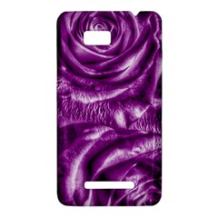 Gorgeous Roses,purple  HTC One SU T528W Hardshell Case