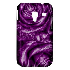 Gorgeous Roses,purple  Samsung Galaxy Ace Plus S7500 Hardshell Case