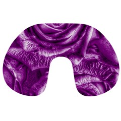 Gorgeous Roses,purple  Travel Neck Pillows