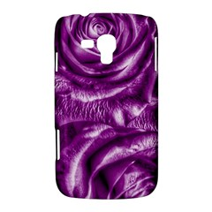 Gorgeous Roses,purple  Samsung Galaxy Duos I8262 Hardshell Case