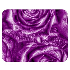 Gorgeous Roses,purple  Double Sided Flano Blanket (medium)