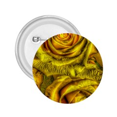 Gorgeous Roses, Yellow  2.25  Buttons