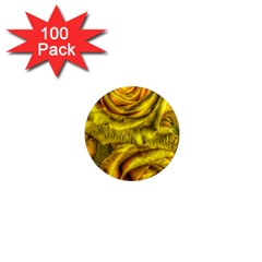 Gorgeous Roses, Yellow  1  Mini Magnets (100 pack)