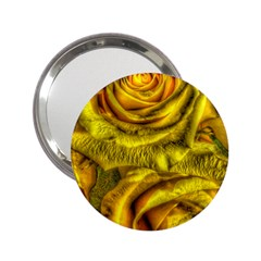 Gorgeous Roses, Yellow  2.25  Handbag Mirrors