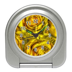 Gorgeous Roses, Yellow  Travel Alarm Clocks