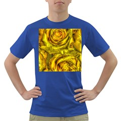 Gorgeous Roses, Yellow  Dark T-Shirt