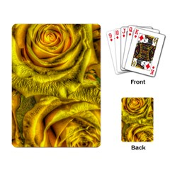 Gorgeous Roses, Yellow  Playing Card