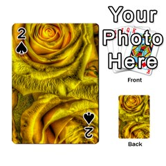 Gorgeous Roses, Yellow  Playing Cards 54 Designs