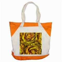 Gorgeous Roses, Yellow  Accent Tote Bag