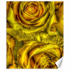 Gorgeous Roses, Yellow  Canvas 20  x 24