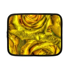 Gorgeous Roses, Yellow  Netbook Case (small)