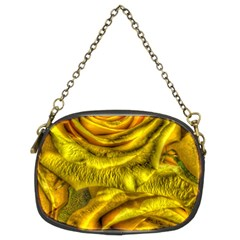 Gorgeous Roses, Yellow  Chain Purses (Two Sides)