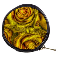 Gorgeous Roses, Yellow  Mini Makeup Bags