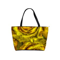 Gorgeous Roses, Yellow  Shoulder Handbags