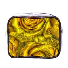 Gorgeous Roses, Yellow  Mini Toiletries Bags
