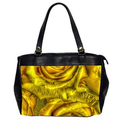 Gorgeous Roses, Yellow  Office Handbags (2 Sides)
