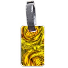 Gorgeous Roses, Yellow  Luggage Tags (two Sides)