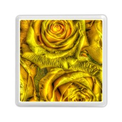 Gorgeous Roses, Yellow  Memory Card Reader (Square)