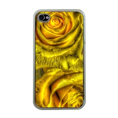 Gorgeous Roses, Yellow  Apple iPhone 4 Case (Clear)